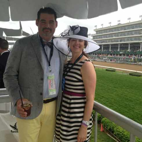 Brooks and I at the Derby in 2013   taketwotapas.com