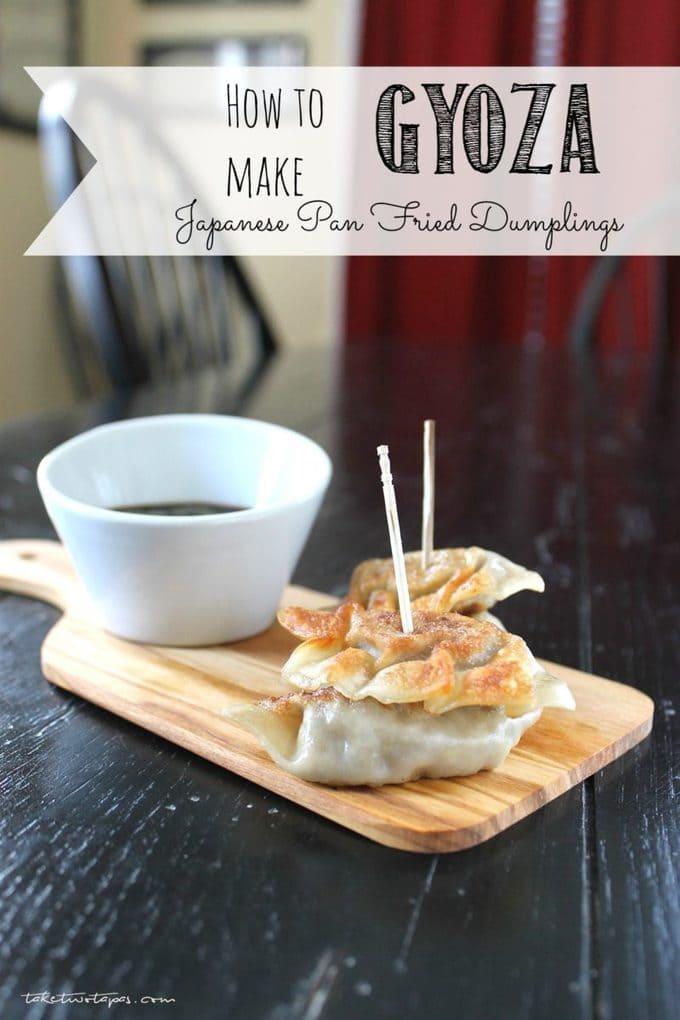 how to make japanese dumplings recipe