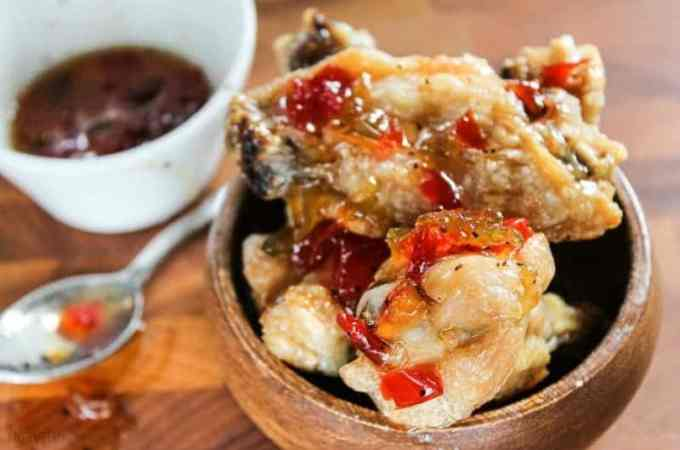 Crispy Chicken Wings with Four Pepper Jelly | Take Two Tapas