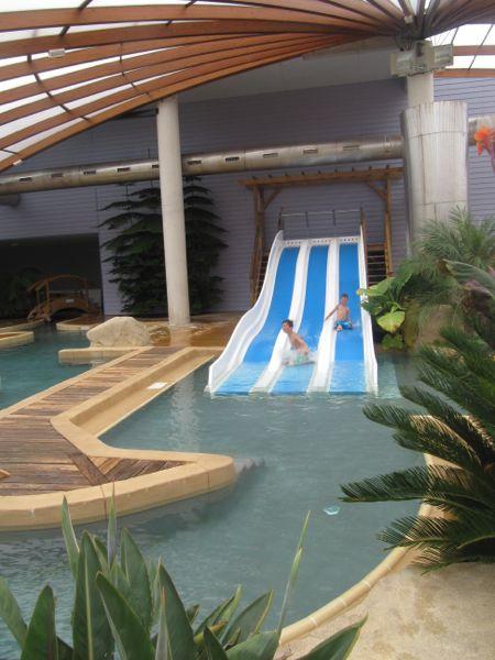 Water slide at Benodet Eurocamp, France