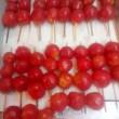 真っ赤なルビーのような「ミニトマト」の関東煮(かんとだき/おでん)
