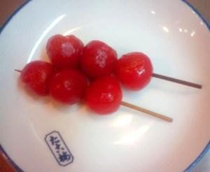 店長の気まぐれ関東煮(かんとだき/おでん)「ミニトマト」
