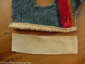 How to make dog coat or capote
