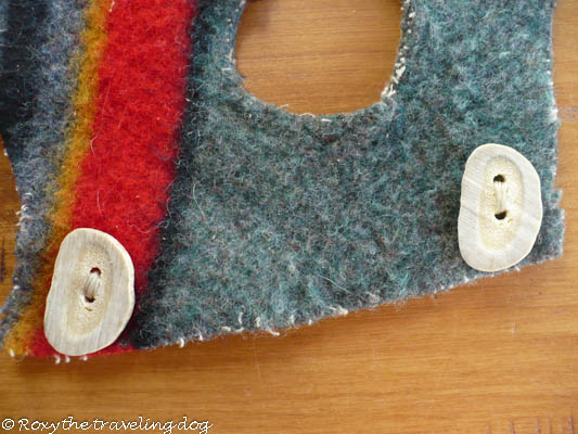 How to make a dog coat or capote