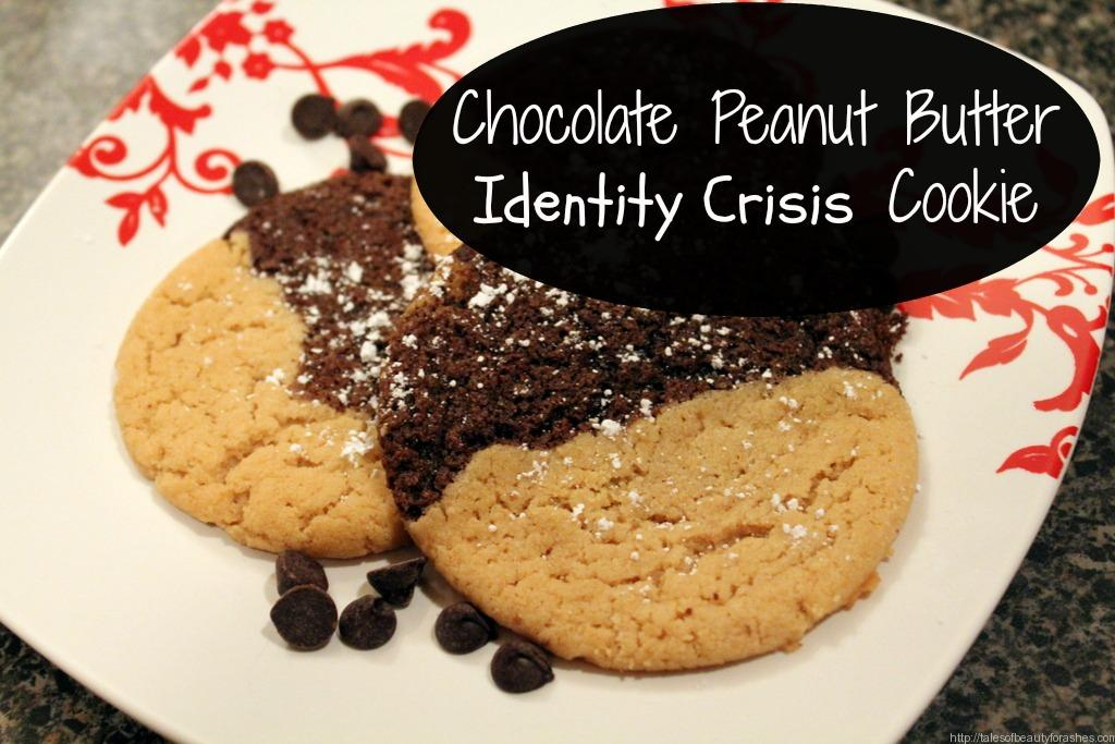 chocolate peanut butter identity crisis cookie pm