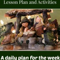 These are some cute ideas to get the family focused on Christ this season. I especially like the treasure hunt idea!