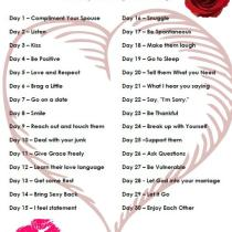 Marriage takes work, but it is good work. It only takes a month to form good habits. This 30 day marriage challenge was so helpful in getting me started on a new marriage - starting with me!
