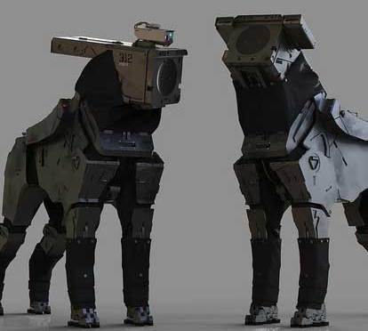 """Robot Dogs!"""