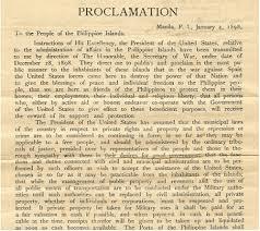 Proclomation