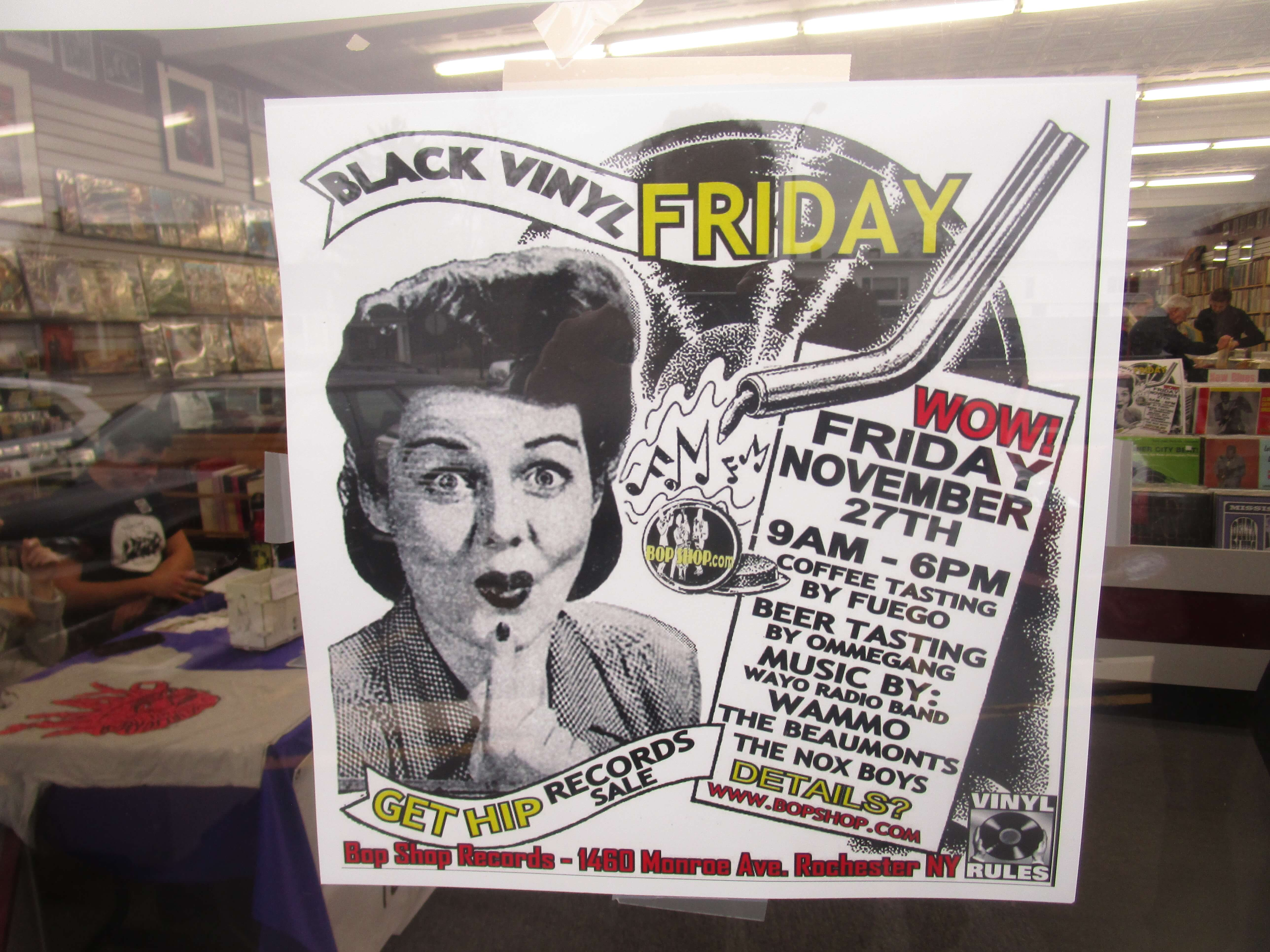 Forget EastplaceMarketview when you can Get Hip at Black Vinyl ...