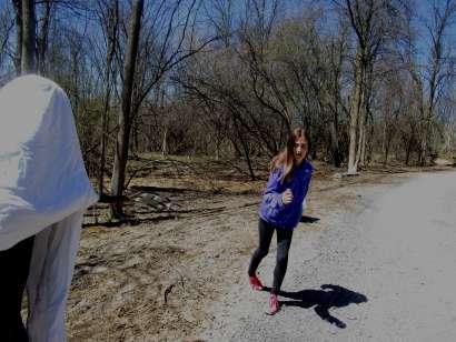 audrey running