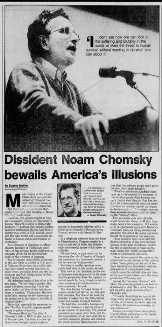 chomsky 1989