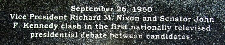 from the Vietnam Veteran's Memorial  Walk of Honor in Highland Park