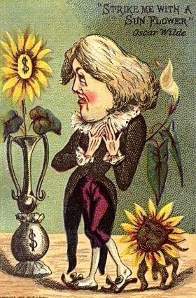 Wilde caricature