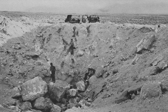2 May 29, 1947 impact crater