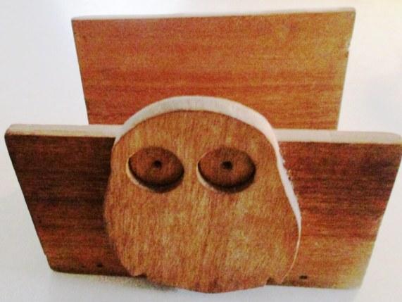 Wooden Ookpik