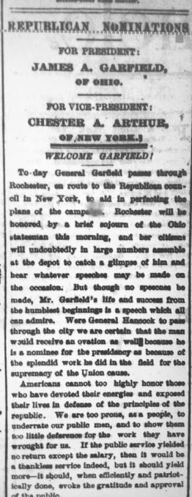Democrat & Chronicle Aug. 4, 1880