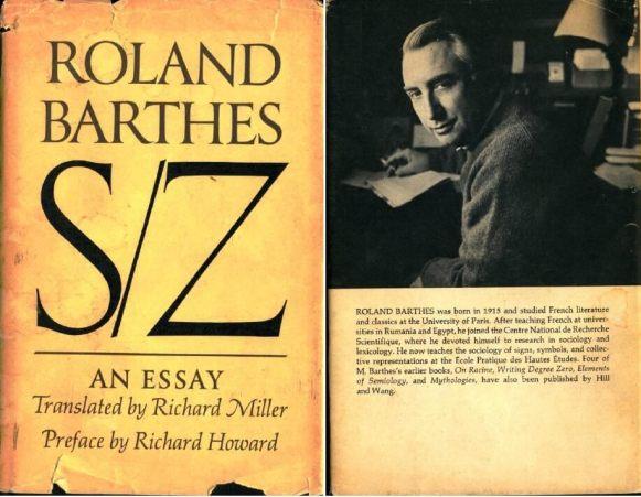 Roland Barthes, S/Z, (translation, 1974)