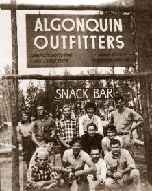 Algonquin Outfitters opened in 1961, with one location in Oxtongue Lake, Ontario. Bill Swift Sr. (better known as Swifty, Mean Dude or Meanest) and Dave Wainman, a former park ranger, started the business. The partners' first plan