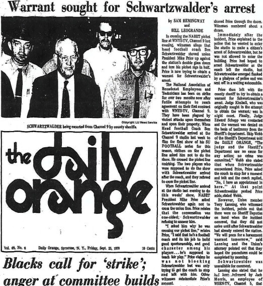The Daily Orange, September 25, 1969