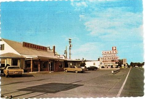 CHASE'S FAMILY RESTAURANT, WaterlooSeneca Falls, NEW YORK USA unused postcard
