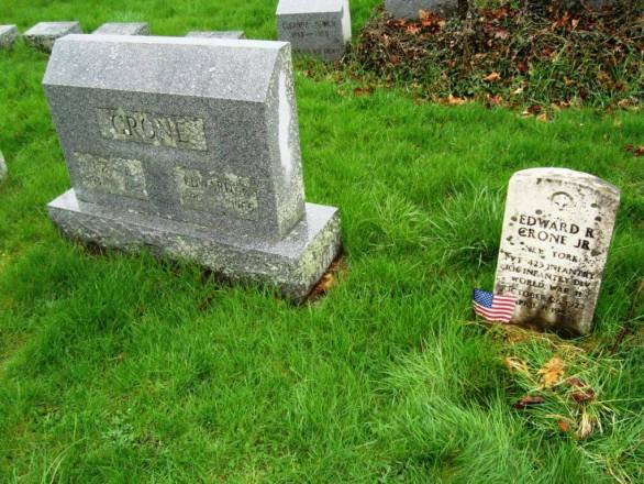 From In Our Home Ground: Journeys to authors' graves in Upstate New York by Steven Huff.