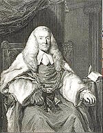 Lord Mansfield (1705–1793), whose opinion in Somerset's Case (1772) was widely taken to have held that there was no basis in law for slavery in England.