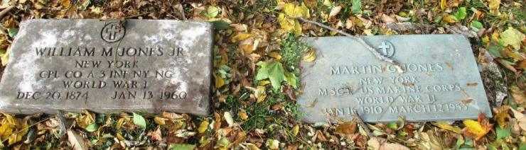 W. Martin's son, W.J Martin Jr. is buried in Mt. Hope Cemetery