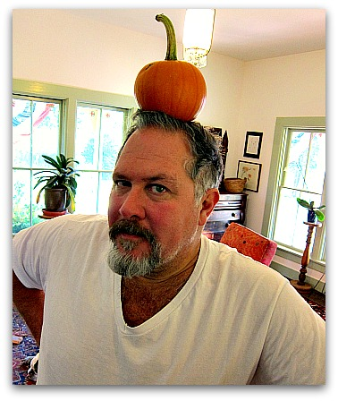 pumpkin on my head