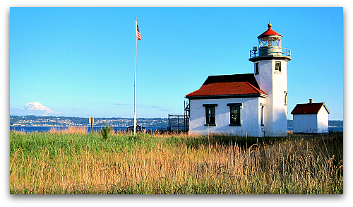 Point Robinson Lighthouse Vashon Island