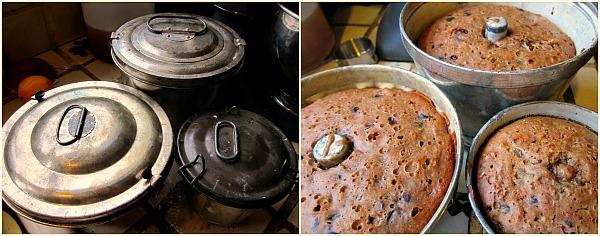 lidded pudding tins