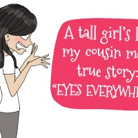 A tall girl's true story :  the fridge