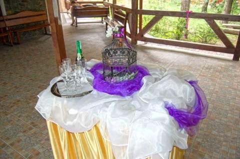 """Біло-фіолетове весілля 16 липня 2011 року у Львові в ресторані """"Львівське передмістя"""""""