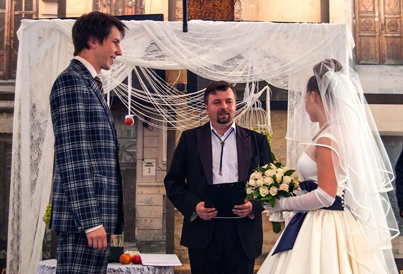 Вінтажне весілля Дмитра і Світлани