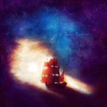surreal ship