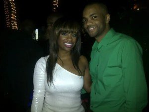 Kandi Burruss Ringing in the New Year in Miami