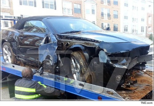 This was a car Bobbi Kriss totaled in 2012.