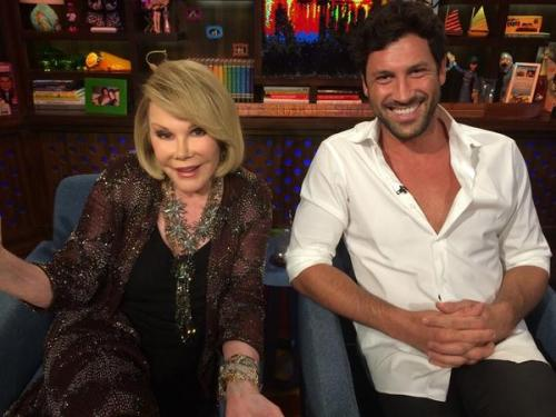 WWHL Joan and Max
