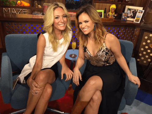 WWHL Kate Chastain and Amy Johnson Below Deck
