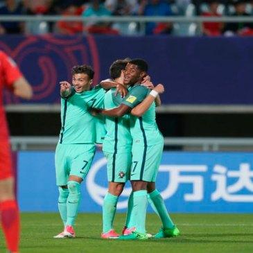 Portugal noquea al anfitrión (1-3)