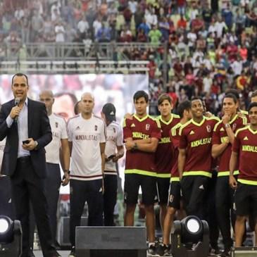 ¡A casa llena! La Vinotinto Sub-20 fue homenajeada en el estadio Olímpico