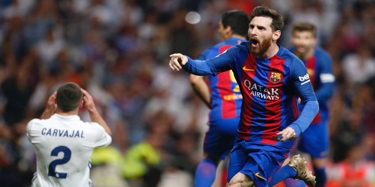 Messi juega mejor en el Bernabéu