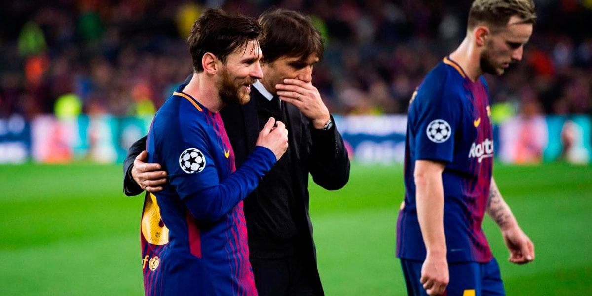 """Messi: """"Agradezco las palabras de Conte"""""""