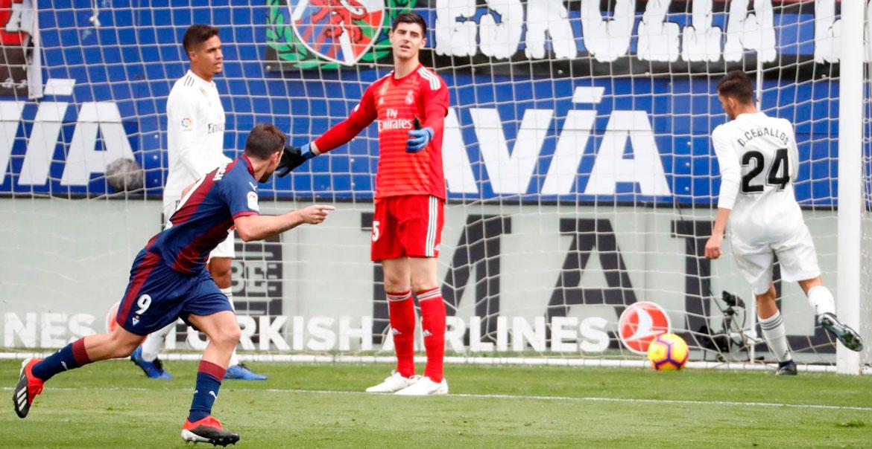 Eibar le dio una paliza al Madrid