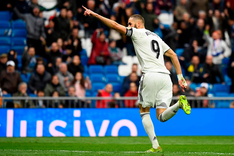 Benzema le da una victoria agónica al Madrid sobre Eibar