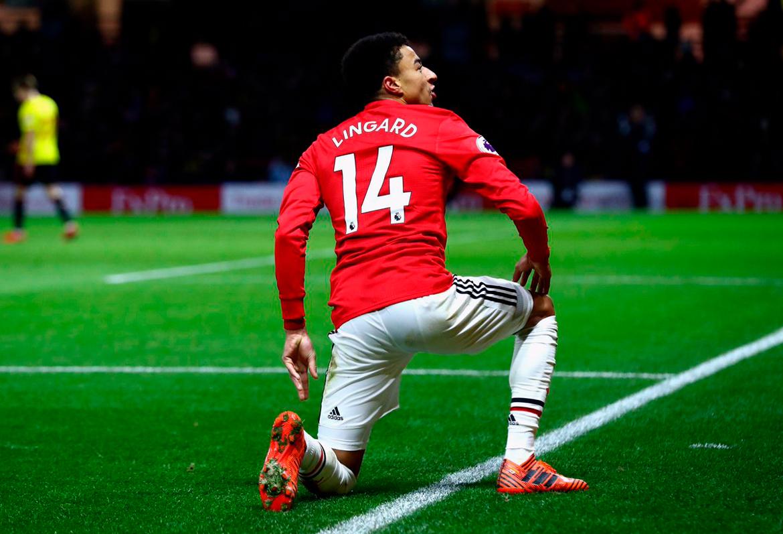"""Lingard: """"Messi trajo su mejor juego contra el United"""""""