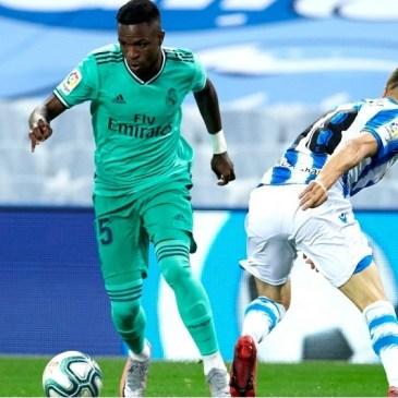Vinícius empuja al Madrid al liderato