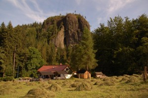 Falkenstein-Bergwachthütte-Rennsteig-Thüringer Wald