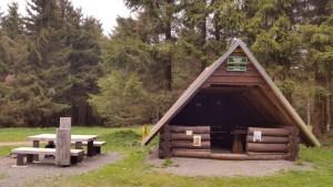Schützhütte am Rennsteig