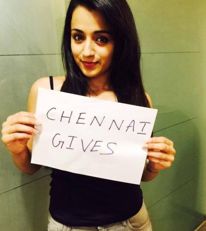 chennai gives Trisha